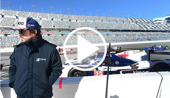 24 Horas de Daytona. Fernando Alonso promete en su estreno en Resistencia