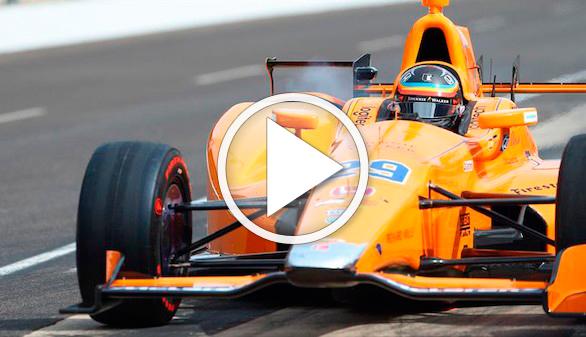 Fernando Alonso aterriza en la Indy500: