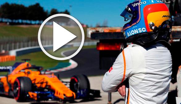McLaren y Fernando Alonso sorprenden: prometen un éxito que no refutan los tests