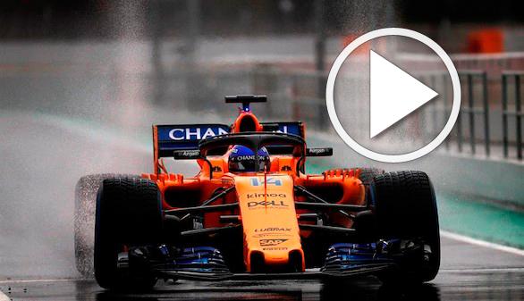 El McLaren deja