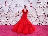 Fotos | El dorado y el rojo se imponen en la alfombra roja de los Óscar
