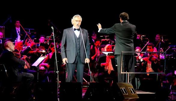 Andrea Bocelli regresa este martes al Festival Starlite de Marbella