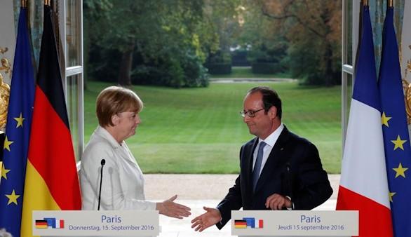 Merkel y Hollande advierten una