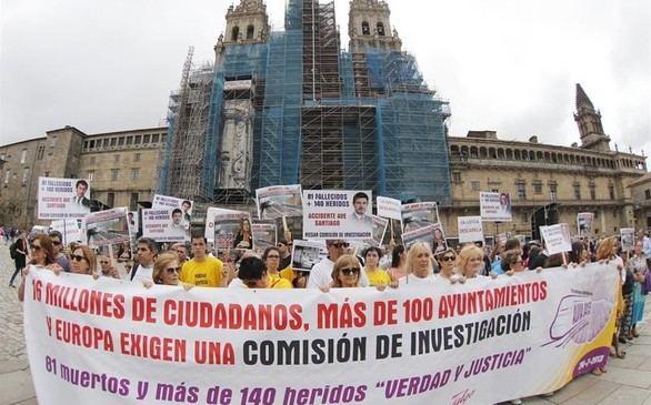Cuatro años después del accidente del Alvia, las víctimas exigen