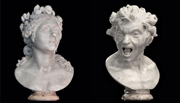 Las Ánimas de Bernini no son esculturas religiosas, sino mitológicas