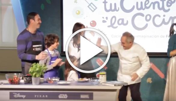 Una app de realidad aumentada para unir a la familia en la cocina