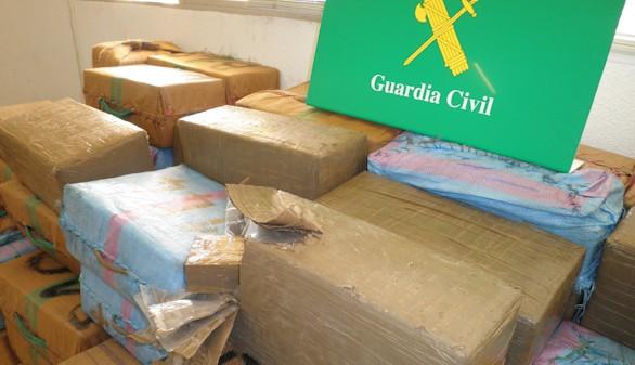 Intervenidos más de mil kilos hachís en dos operaciones en Algeciras