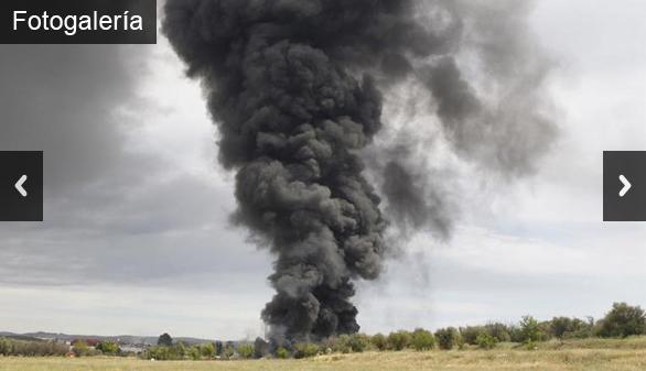 39 heridos en una explosión en Arganda del Rey