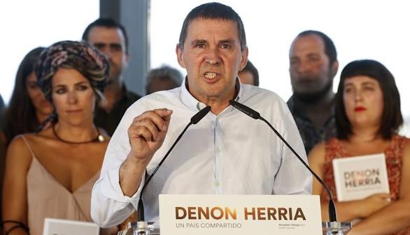 Arnaldo Otegui hará campaña
