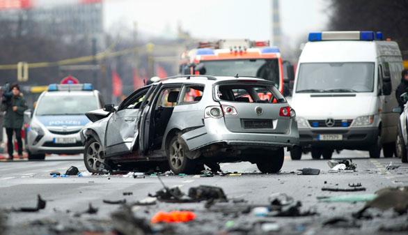Muere un conductor en Berlín al estallar un explosivo en su vehículo