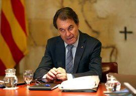 Artur Mas, presidente de Cataluña. Efe
