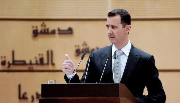 Al Asad acusa a Francia de apoyar el terrorismo en Siria