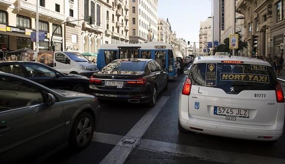 El día sin coches: el día del gran atasco de Carmena