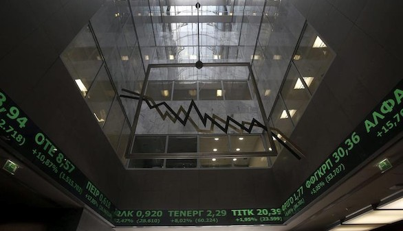 La Bolsa de Atenas cierra con una caída del 16,23 por ciento