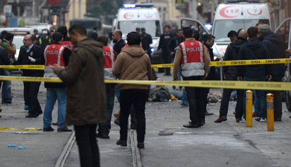 Cinco muertos en un atentado suicida en el centro de Estambul