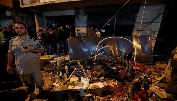 EI se atribuye el atentado en el feudo de Hizbulá en Beirut, que deja 41 muertos