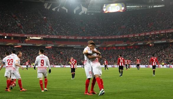 El Sevilla remonta y coge ventaja de cara al Sánchez Pizjuán  1-2