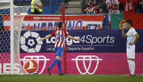 Golpe de autoridad del Atlético ante el Málaga  4-2