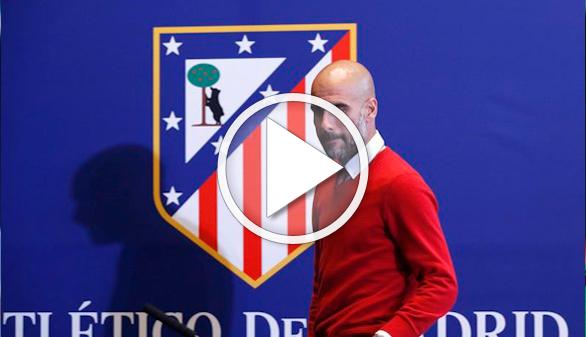 Guardiola esquiva los ataques mediáticos al Atlético y reparte halagos