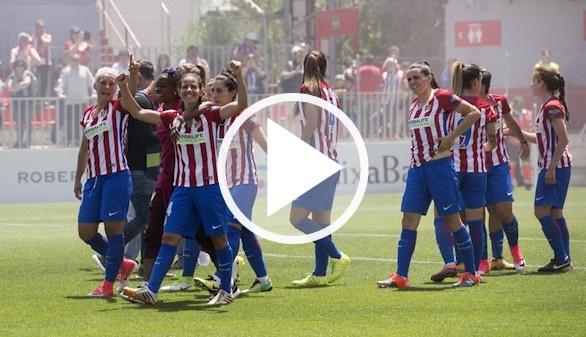 Fútbol femenino. El Atlético de Madrid gana su primera Liga | 2-1