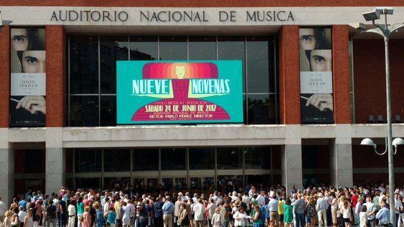 """""""Nueve novenas"""", el evento de música clásica convertido en trending topic"""