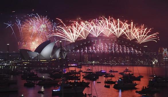 Australia, Japón y Filipinas, los primeros en celebrar el Año Nuevo