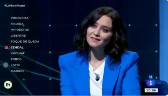 La candidata Díaz Ayuso explica en tres minutos lo más importante de su programa