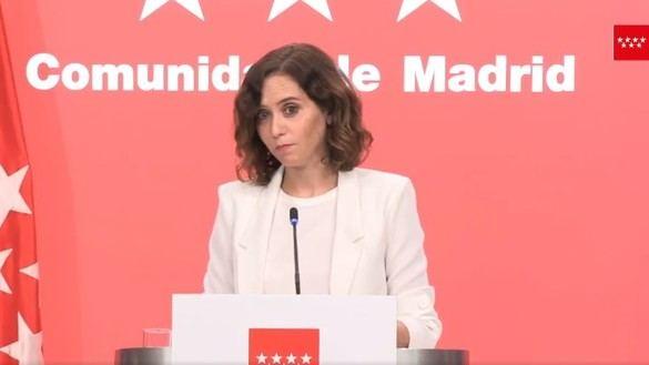 Ayuso convoca elecciones anticipadas el 4 de mayo por temor a una moción de censura