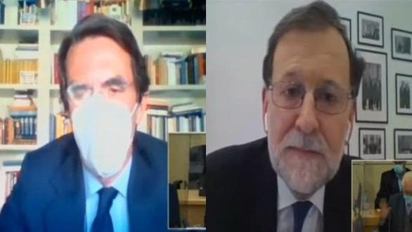 Aznar y Rajoy desmienten a Bárcenas: aseguran que