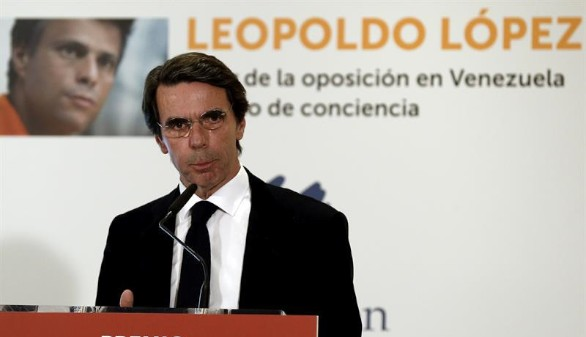 Aznar avisa de los terroristas convictos que se hacen pasar por pacificadores