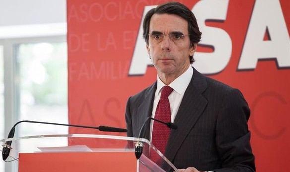 Aznar cree que una política que promueve la secesión