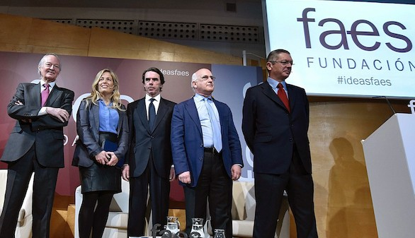 Gallardón y Piqué se suben al carro de Aznar en FAES