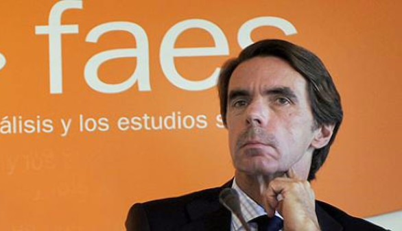 Aznar envía un telegrama de condolencias a las hijas de Ana María Vidal-Abarca