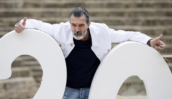 Antonio Banderas, homenajeado en el Festival de Málaga