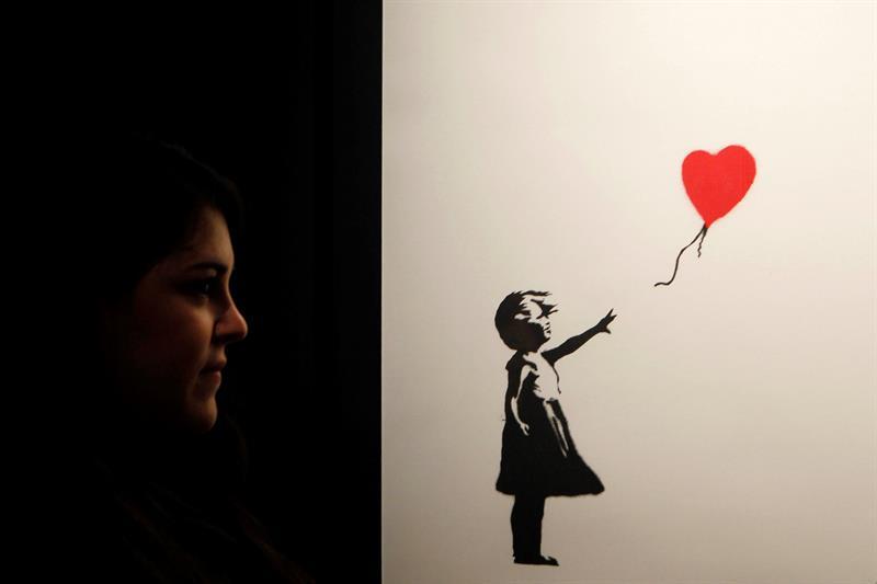 Primera exposición en España de Banksy con 28 originales y 45 reproducciones