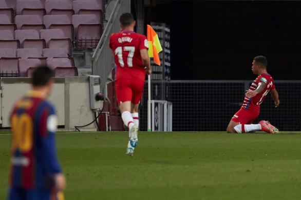El Granada remonta al Barcelona y pone la Liga al rojo vivo | 1-2