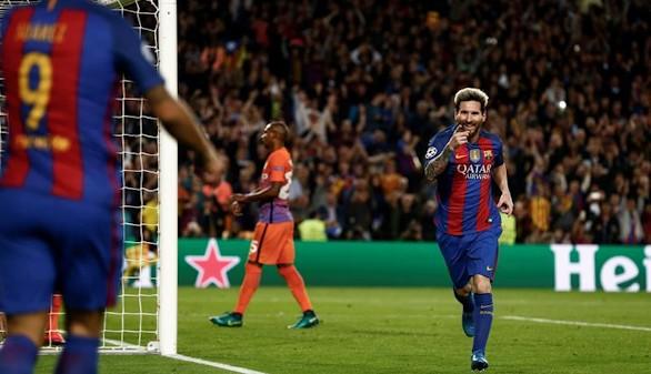El Barcelona se da un festín a costa de los errores del City  4-0