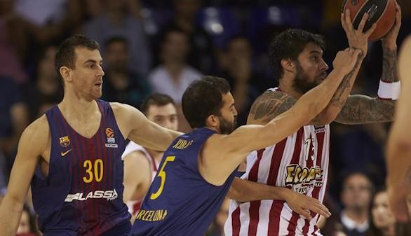 Euroliga. El Barcelona se da un baño de moral ante el Olympiacos |73-51