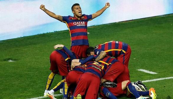 El Barcelona, campeón
