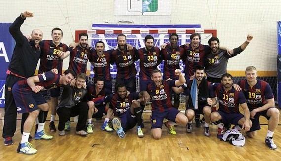 El Barcelona logra su quinto título consecutivo y decimocuarto en Asobal