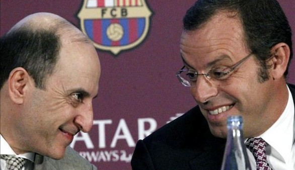 Benedito, candidato a la presidencia del Barça: