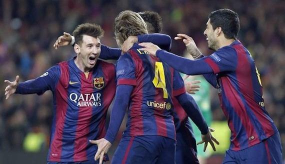 Al Barça le basta caminar y la luz de Messi para eliminar al City (1-0)