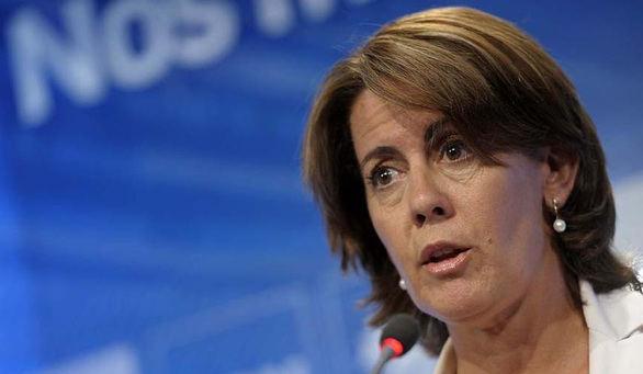 Yolanda Barcina presenta su dimisión como presidenta de UPN