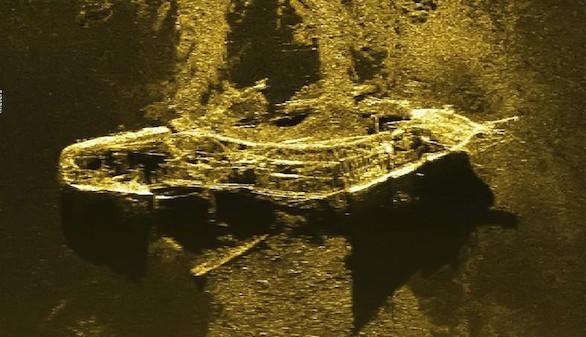 Hallado un buque del siglo XIX durante la búsqueda del MH370 malayo