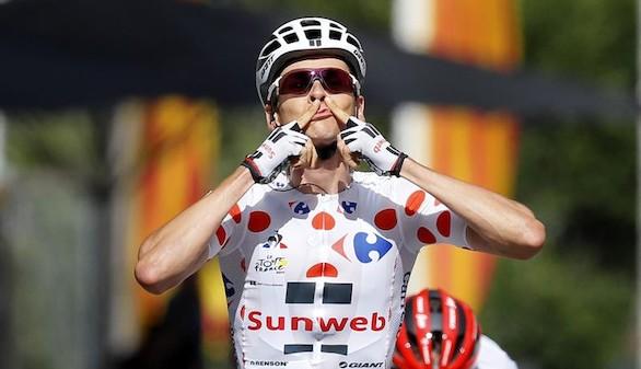 Tour de Francia. El francés Barguil celebra el día de la fiesta nacional con su primera victoria