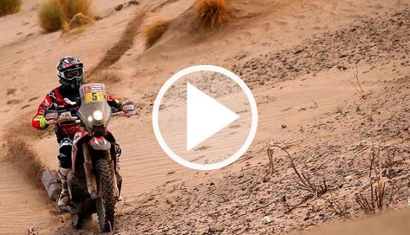 Dakar 2018. Sainz mantiene su plácido liderato y Barreda cede, lesionado