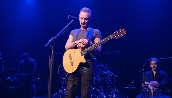 Sting hizo sonar música en 'Bataclan' un año después de la tragedia