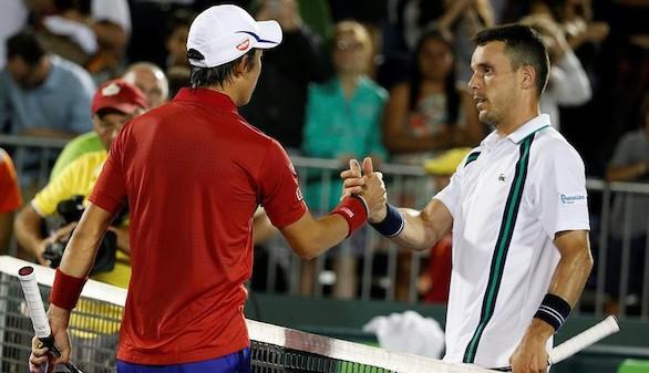 Bautista y Zeballos dejan Miami y Djokovic y Berdych se verán en cuartos