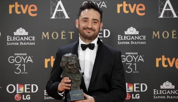 José Antonio Bayona, Raúl Arévalo y Enma Suárez, triunfadores de la 31 edición de los premios Goya