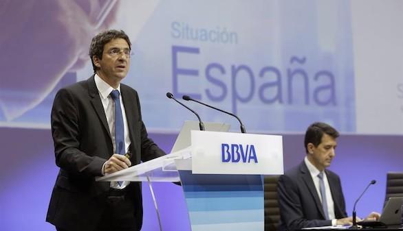 BBVA cree que el proceso catalán puede influir en el crecimiento económico